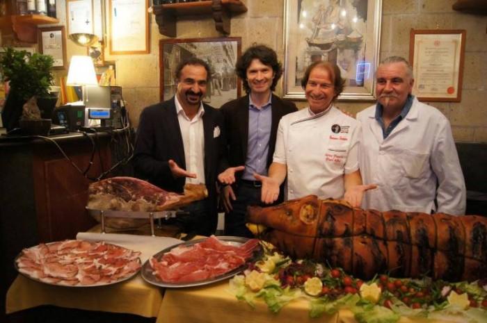 Antica Pizzeria Port'Alba, evento Napoli-Norcia