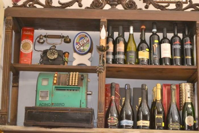 Antica Salumeria Pane dal 1864, i vini