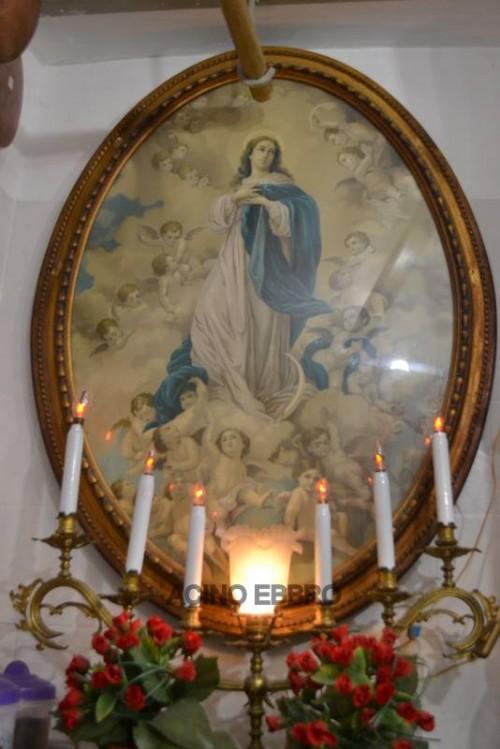 Antica Salumeria Pane dal 1864, un'immagine sacra
