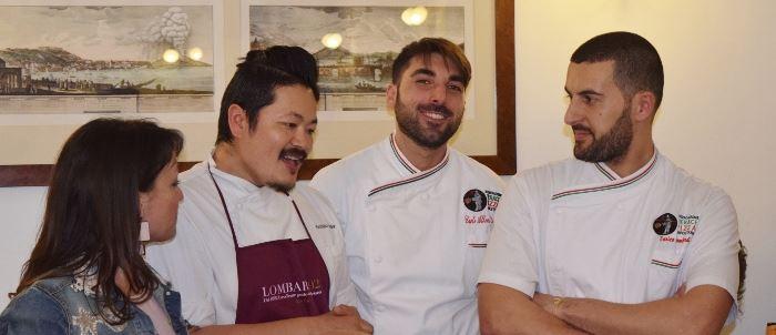 Antonella D'Avanzo, Hiro, Carlo Alberto ed Enrico Lombardi