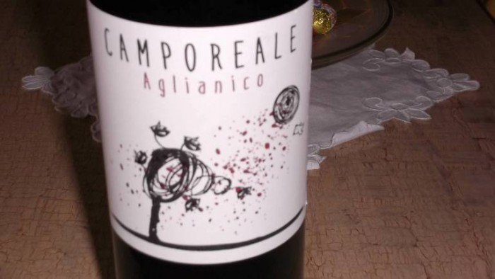 Camporeale Aglianico Campania Igt Lunarossa