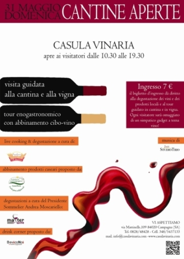 Cantine Aperte a Casula Vinaria