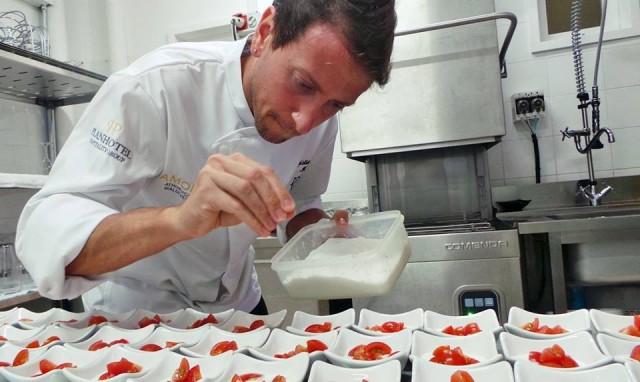 Christian Milone, chef Trattoria Zappatori
