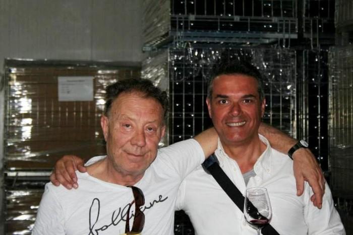 Con Luigi Cataldi Madonna