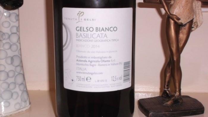 Controetichetta Gelso Bianco Vasilicata Igt 2014 Tenuta I Gelsi