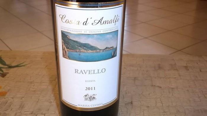 Costa d'Amalfi Ravello Rosso Riserva Doc Marisa Cuomo