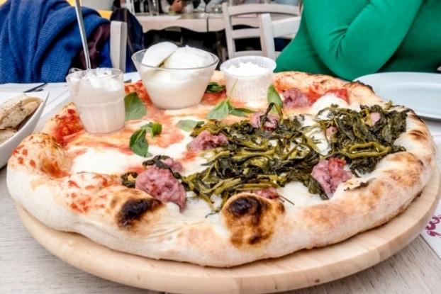Cricò & Pe, Pizza al tagliere