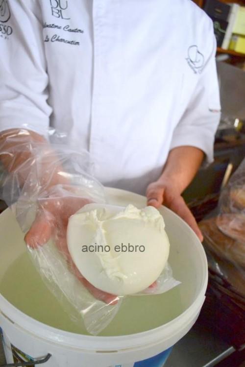 Enogastronomia Salvatore Cautero,  la mozzarella