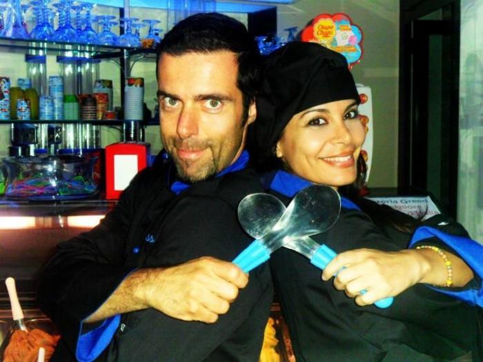 Greed, Dario Rossi e la fidanzata Barbara