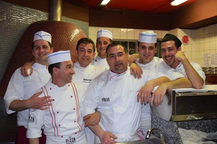 Giò Il Pizz'ino, Gianfranco Iervolino e lo staff di Palazzo Vialdo