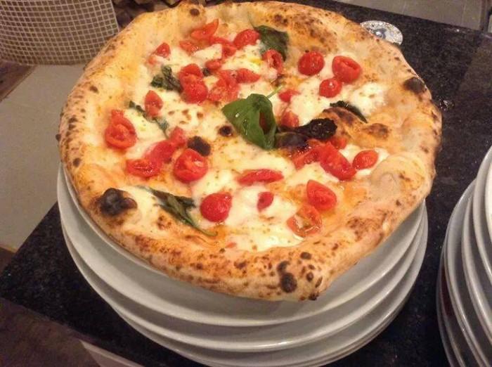 Il Boss della Pizza, Margherita con pomodorini