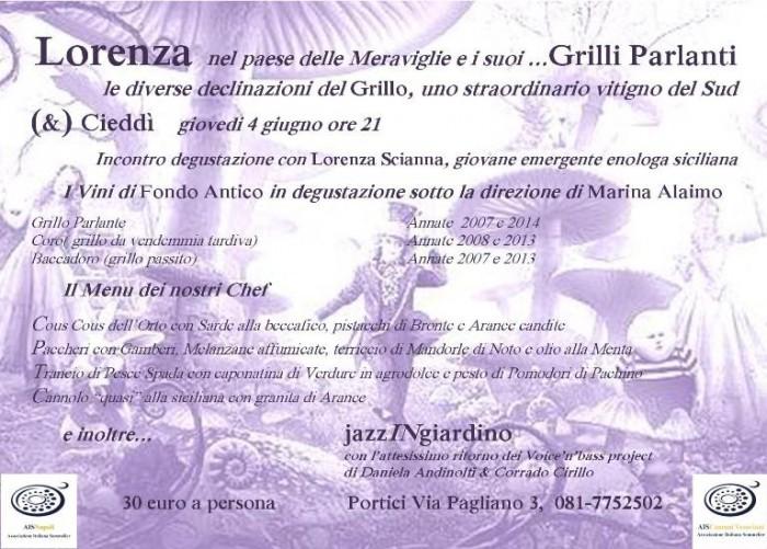Il Grillo e le sue declinazioni al Cieddì di Portici