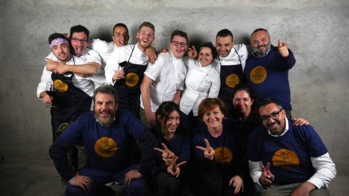 Il team Cooking Soon al completo