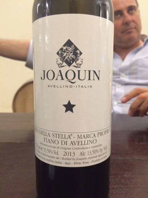 Joaquin Il vino della stella 2013