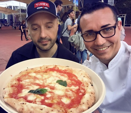 Expo. Joe Bastianich e Gino Sorbillo