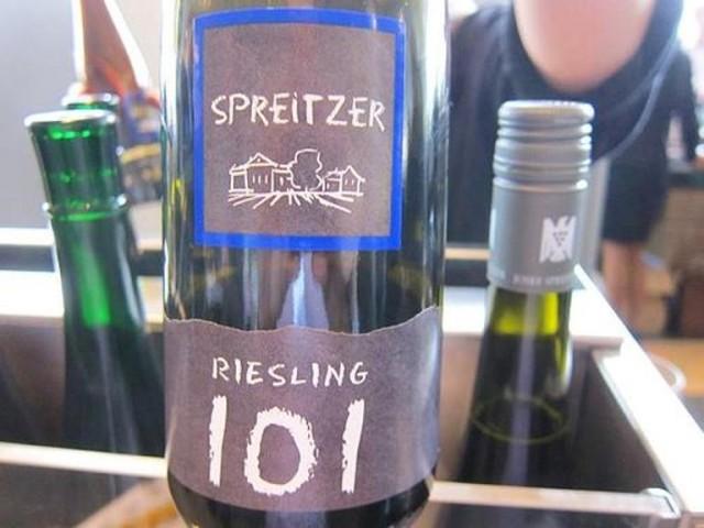 "Joset Spreitzer Riesling ""101"" 2014"