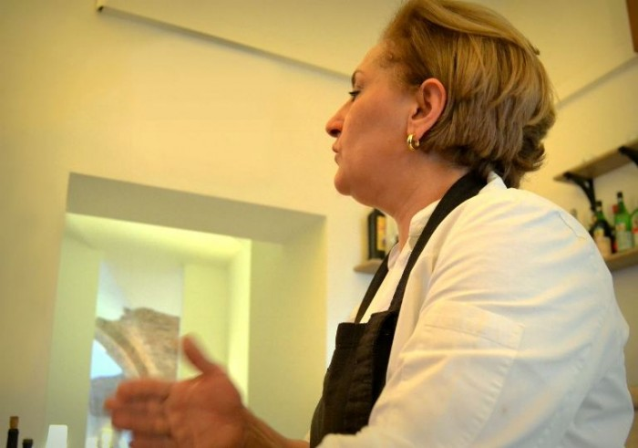 La chef Francesca Pillo