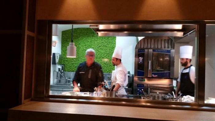 La nuova cucina del ristorante Atman di Igles Corelli