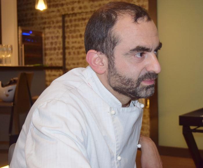 Lo chef Carlo Spina