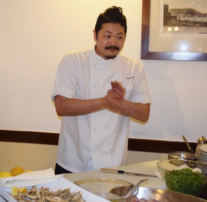 Lo chef Hiro