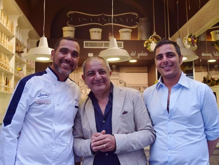 Marco, Patrizio e Fabio Infante