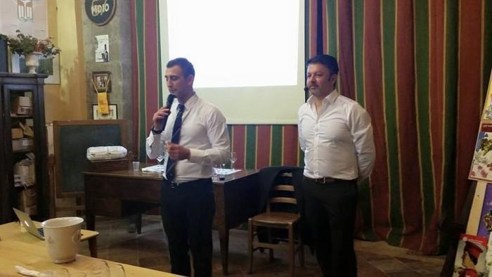Marco Ricciardi con Klaus Gasser