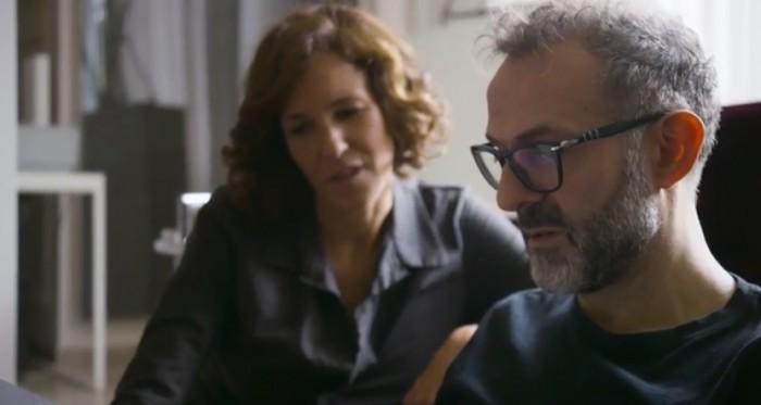 Massimo e la moglie Lara