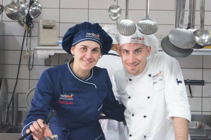 Nonsoke Pizza e Cucina, Patrizia Savastano e Antonio De Luca