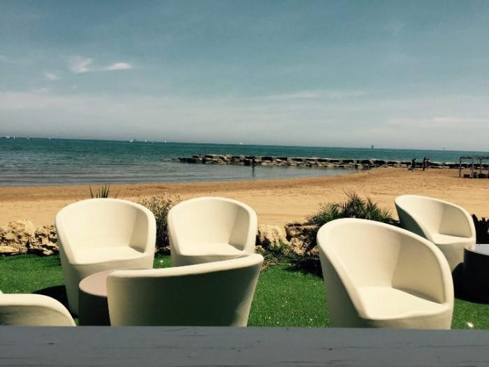 Novezerodue, la spiaggia