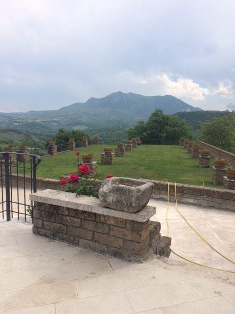 Paesaggio irpino dalle Cantine Antonio Caggiano
