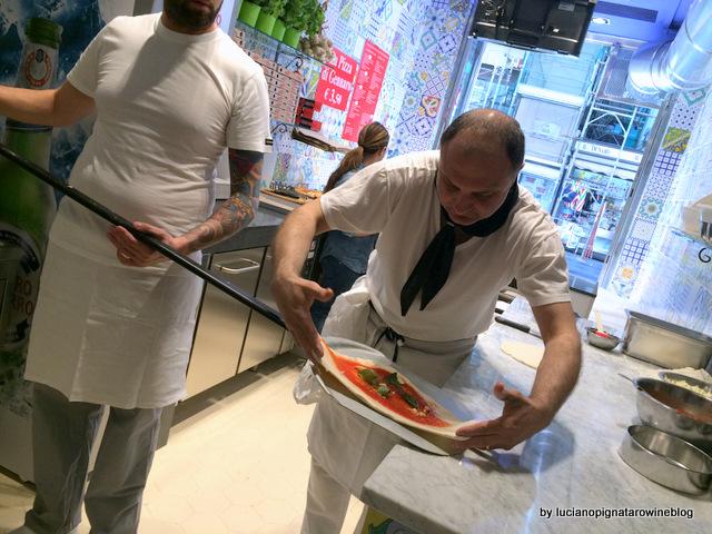 Pizza a portafoglio da Gennaro  Salvo