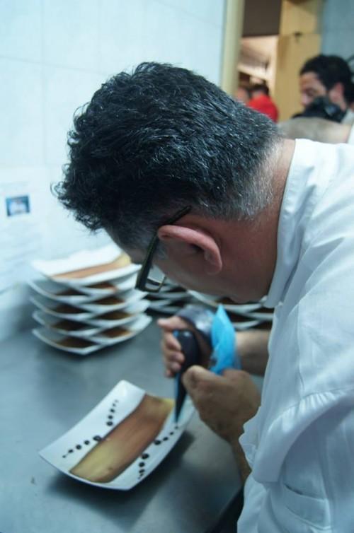 Pizzeria Elite Rossi, Sal De Riso alla preparazione della dolce