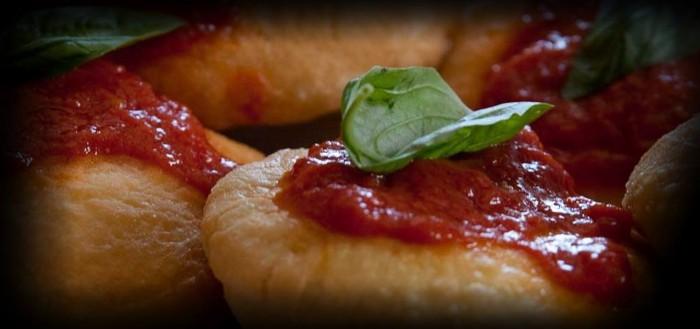 Pizzeria La Terrazza, le montanare fritte