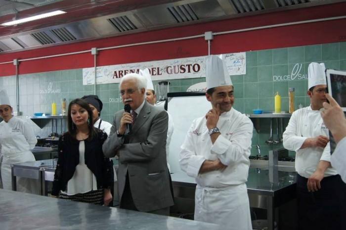 Scuola Dolce e Salato, l'intervento del prof. Giorgio Calabrese moderato da Antonella D'Avanzo