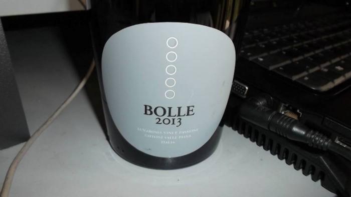 Spumante Extra Dry Bolle  Lunarossa