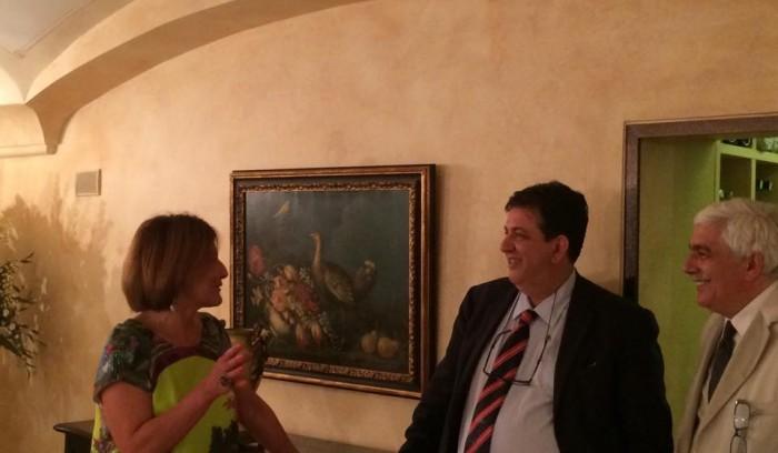 Terrazza Marziale, con Paola Savarese e Costanzo Cacace