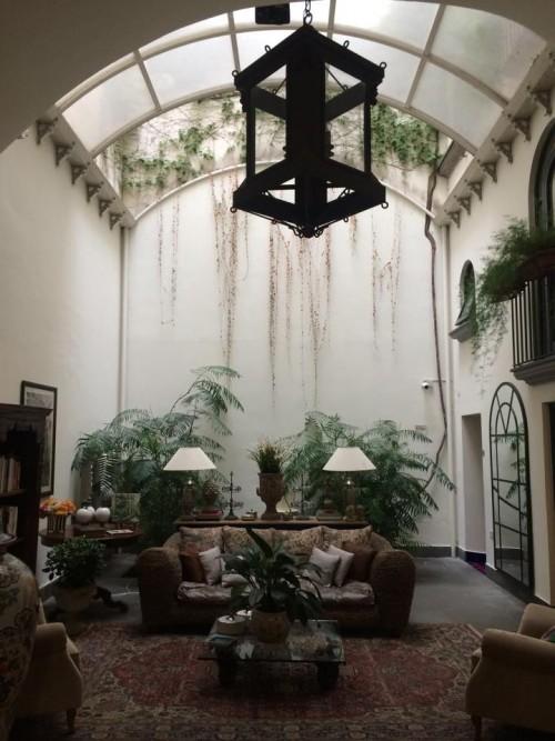 Terrazza Marziale, la hall all'ingresso