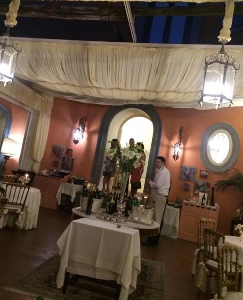 Terrazza Marziale, la sala