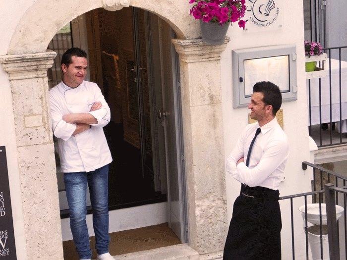 Vincenzo Gentile e Girolamo Mangano