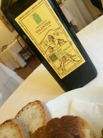 L'Angolo d'Abruzzo, l'olio di Valentini
