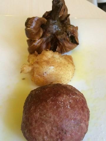 L'Angolo d'Abruzzo, il polpettone