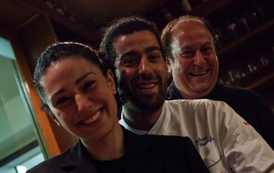 Lanfranco Centofanti con i figli Valerio e Valentina (foto sito angolodiabruzzo.it)