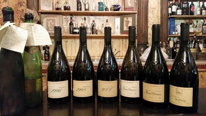 i vini di Kellerei Cantina Terlan in degustazione all'enoteca La Botte