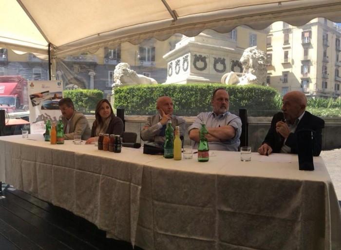 la presentazione a Napoli del Mediterranean Cooking Congress