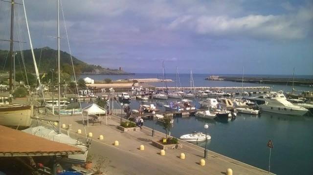 Il porto di Marina di Camerota