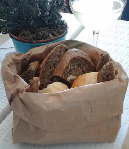 Taverna del Mozzo, cestino del pane