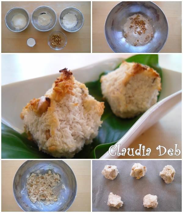 tutorial brutti ma buoni al cocco, ricetta veg e gluten free