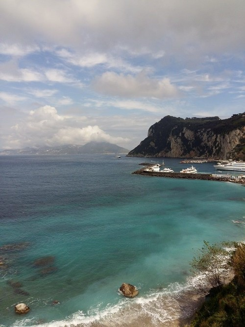 vista dal J.K. Palace Capri