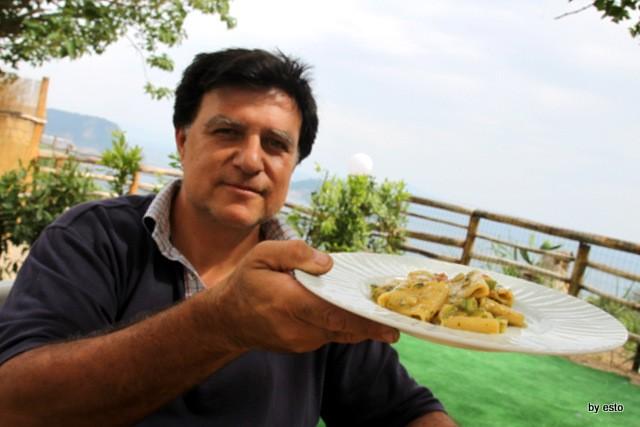 Agriturismo Il Gruccione Paccheri con zucchine e cozze