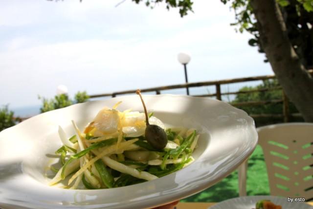 Agriturismo Il Gruccione  baccala all'insalata